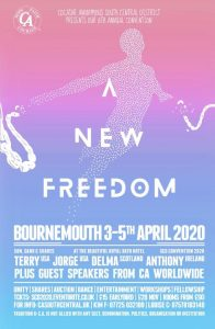 A New Freedom event flyer
